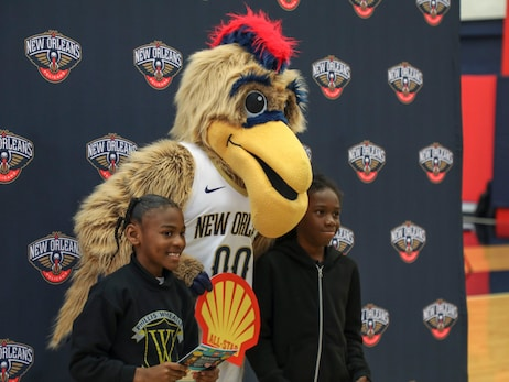 Pelicans and Shell partner to host a reading really for local schools