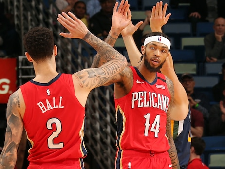 David Griffin discusses Pelicans' across-the-board improvements on radio show