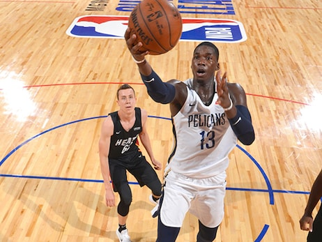 NBA Summer League Tournament First Round: No. 26 Heat 110, No. 7 Pelicans 106