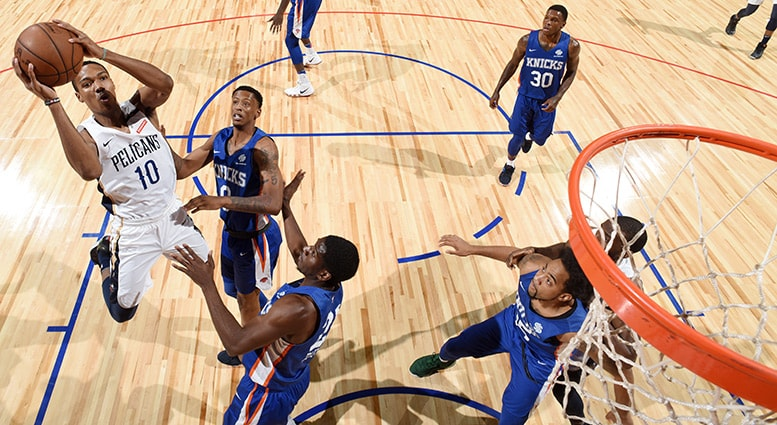 NBA Summer League Consolation Round: Knicks 102 Pelicans 83