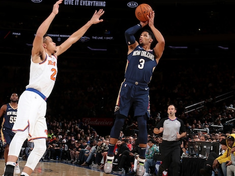 Pelicans Radio postgame interview with Josh Hart  - Pelicans at Knicks,  October 18, 2019