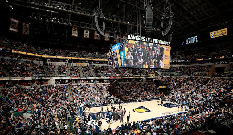 Indianapolis' Bankers Life Fieldhouse