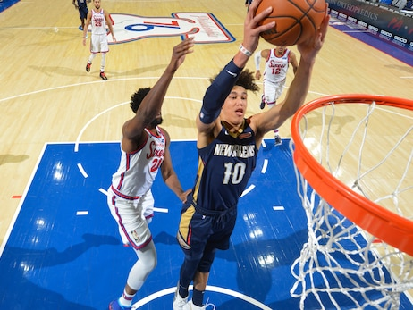 Postgame wrap: 76ers 116, Pelicans 109