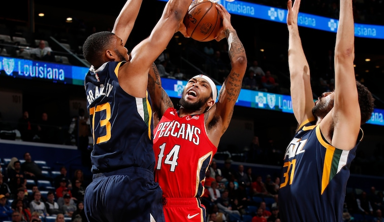Postgame Wrap Jazz 128 Pelicans 126 New Orleans Pelicans