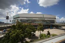 Smoothie King Center receives fresh paint in on-going renovation