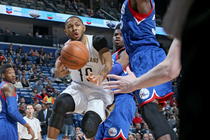 The New Orleans Pelicans defeated the Philadelphia 76ers on Monday, Jan. 26 at the Smoothie King Center.