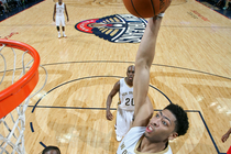 The New Orleans Pelicans defeated the Atlanta Hawks on Monday, Feb. 2 at the Smoothie King Center.