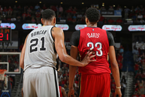 The New Orleans Pelicans defeated the San Antonio Spurs Wednesday night to advance to the NBA Playoffs.