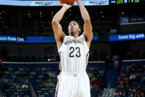 Houston Rockets vs. New Orleans Pelicans at the Smoothie King Center on Tuesday, Oct. 14, 2014.