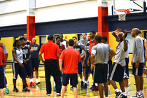 2015 Pelicans Summer League Practice Day 2