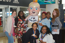 King Cake Baby Pop-Up Party Finale