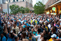2009 Hornets FAN UP Playoff Pep Rally - Photo Gallery