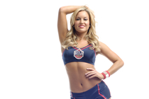 Pelicans Dance Team member Kellie