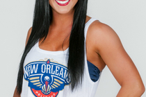 Meet the ladies of the 2013-14 Pelicans Dance Team - Alexis from Lake Charles