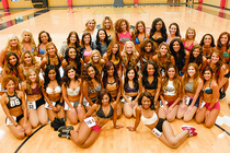 2015 Pelicans Dance Team Finalists