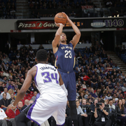 The Pelicans played at the Sacramento Kings on Tuesday, Nov. 18.