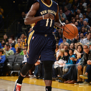 The Pelicans played at the Golden State Warriors on Thursday, Dec. 4.