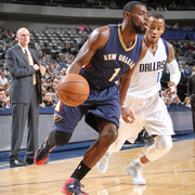 The New Orleans Pelicans played at the Dallas Mavericks on Wednesday, Dec. 10.