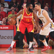 The New Orleans Pelicans played at the Houston Rockets on Thursday, Dec. 18.