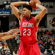 The New Orleans Pelicans played at the Indiana Pacers on Tuesday, Dec.  23.