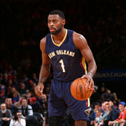 The New Orleans Pelicans played at the New York Knicks on Monday, Jan. 19.