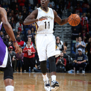 Photos of gurad Jrue Holiday from 2014-15 season