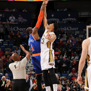 The New Orleans Pelicans played the New York Knicks on Tuesday, Dec. 9.