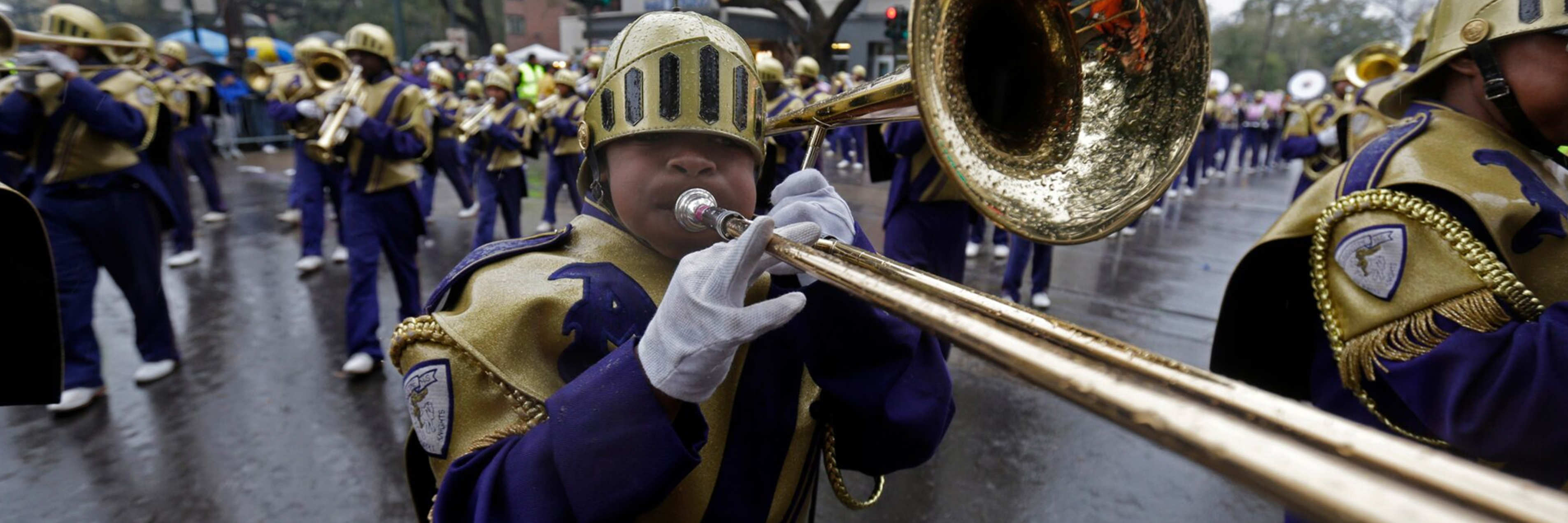 Pelicans Sounds of New Orleans featuring the St. Augustine Marching 100