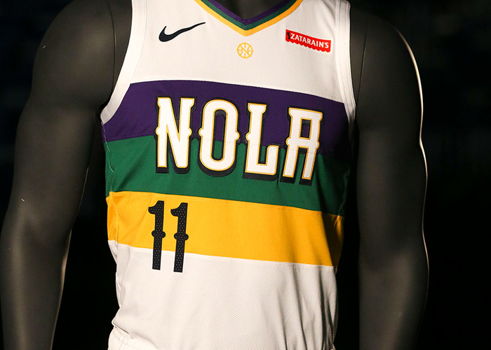 New Orleans Pelicans unveil Nike City Edition uniform inspired by the  vibrant colors of Mardi Gras  398857edd