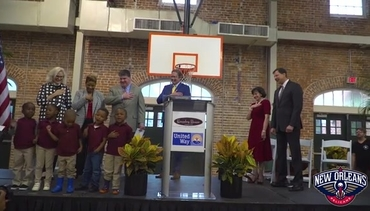 Kingsley House Unveils Gayle and Tom Benson Community Center