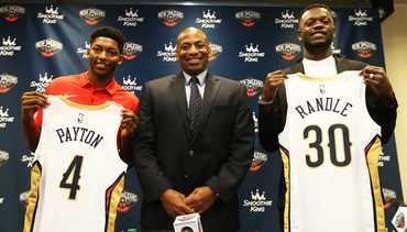 WATCH: Payton, Randle join Pelicans