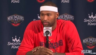 Media Day: DeMarcus Cousins