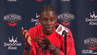 Media Day: Jrue Holiday