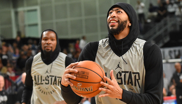 PHOTOS: All-Star Day 2 with AD