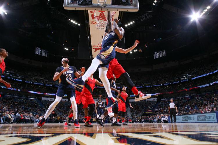 National Basketball Association roundup: Pelicans win in OT after Knicks collapse