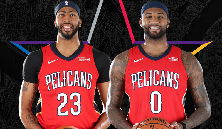 9014d758df16 ... pelicans anthony davis demarcus cousins named starters in 2018 nba all  star game