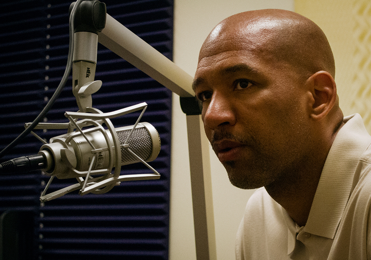 Pelicans head coach Monty Williams speaks on the Black and Blue Report