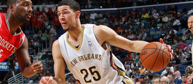 Pelicans Guard Austin Rivers