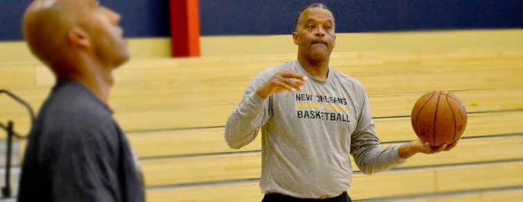 Pelicans Assistant Coach Randy Ayers