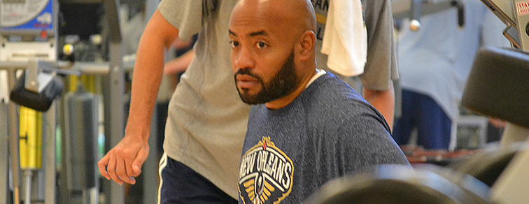 Pelicans Head Athletic Trainer Jon Ishop