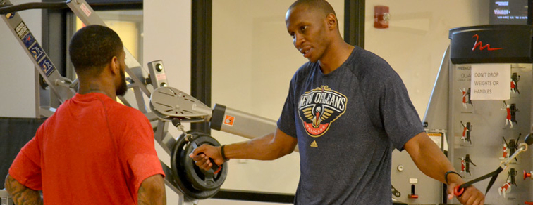 Pelicans Director of Athletic Performance Carlos Daniel