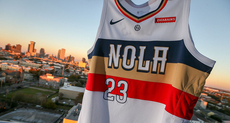 5d7b249bfe6 New Orleans Pelicans unveil Nike NBA Earned Edition uniform | New ...