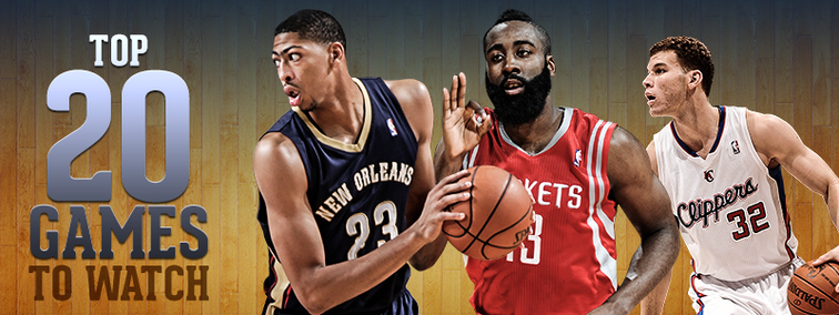 Top 20 Pelicans Games to watch in 2014-15