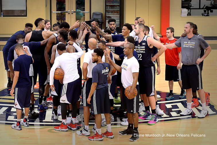 Pelicans Summer League Minicamp 2016 - Day 1