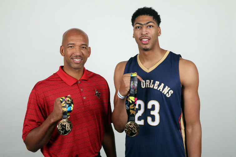 Monty Williams and Anthony Davis return to New Orleans with FIBA gold medals