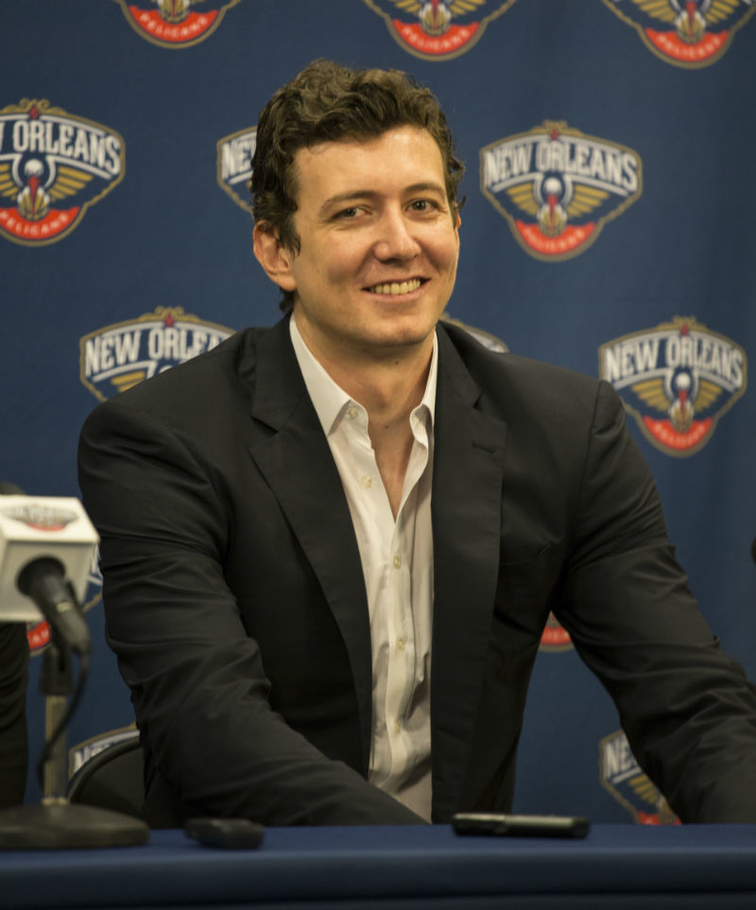 Pelicans introduce newest addition, Omer Asik