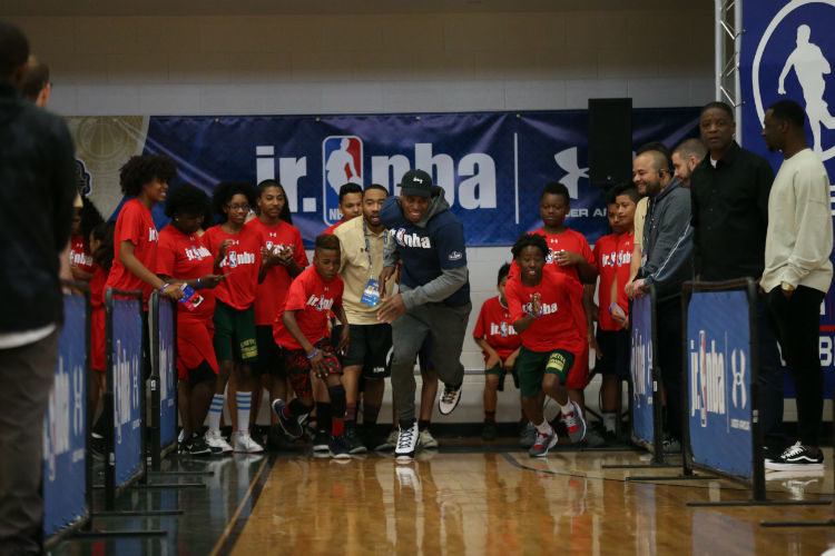 Jr. NBA Day with Buddy Hield