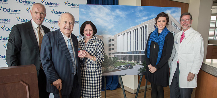 Saints and Pelicans Owners Gayle and Tom Benson Donate  20 Million to  Ochsner Cancer Institute 98b42dd38