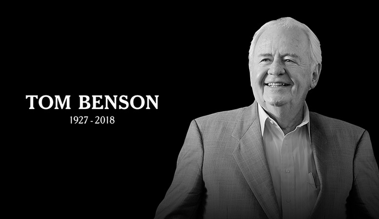 Saints, Pelicans and Horse Owner Tom Benson Dies at 90