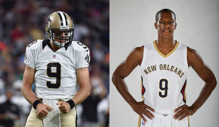 Brees and Rondo